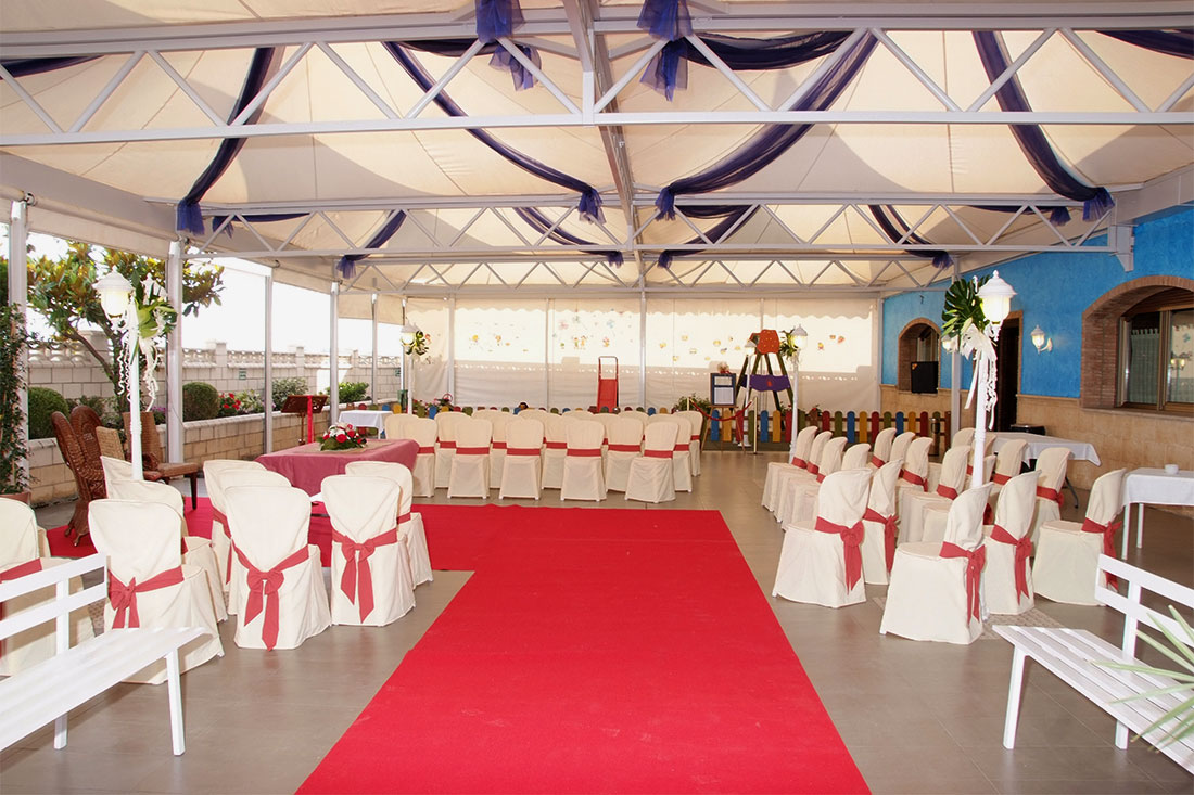Carpa boda Restaurante Casa Beltrán