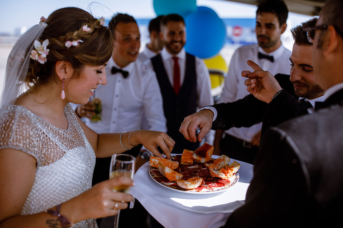 Cóctel boda Casa Beltrán