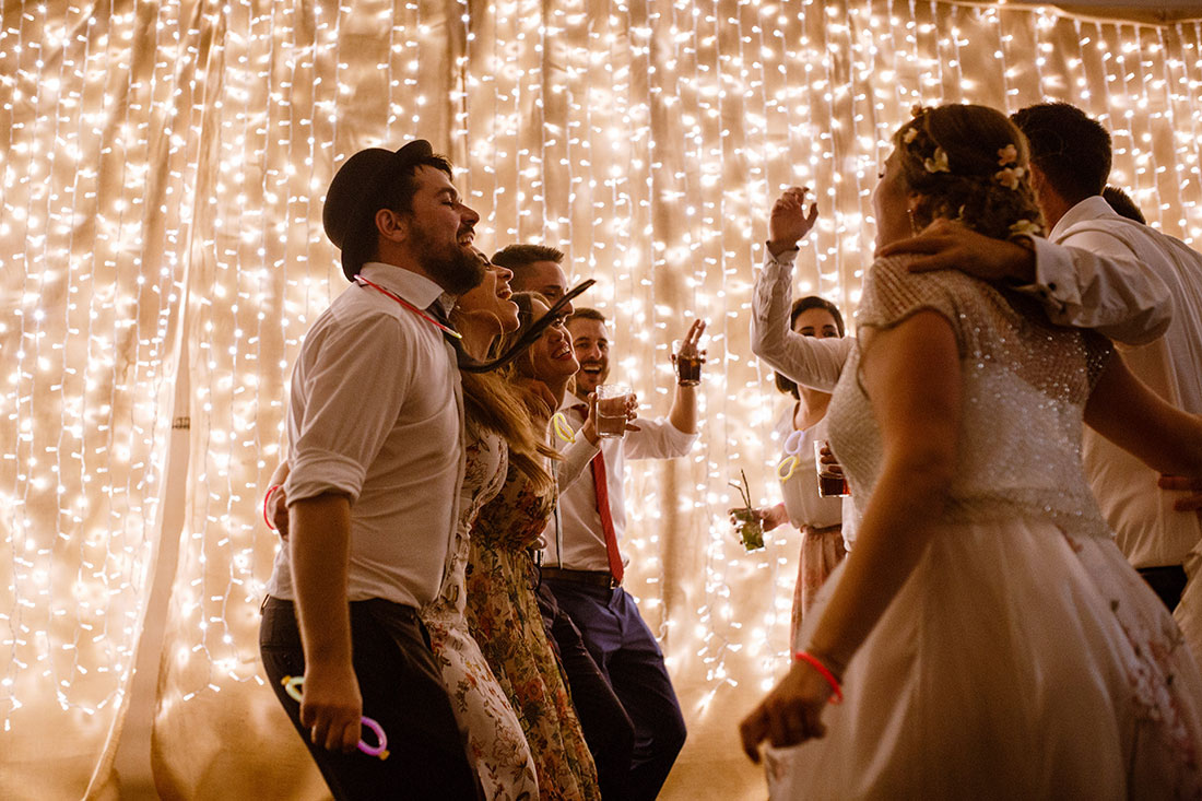 Baile boda Casa Beltrán